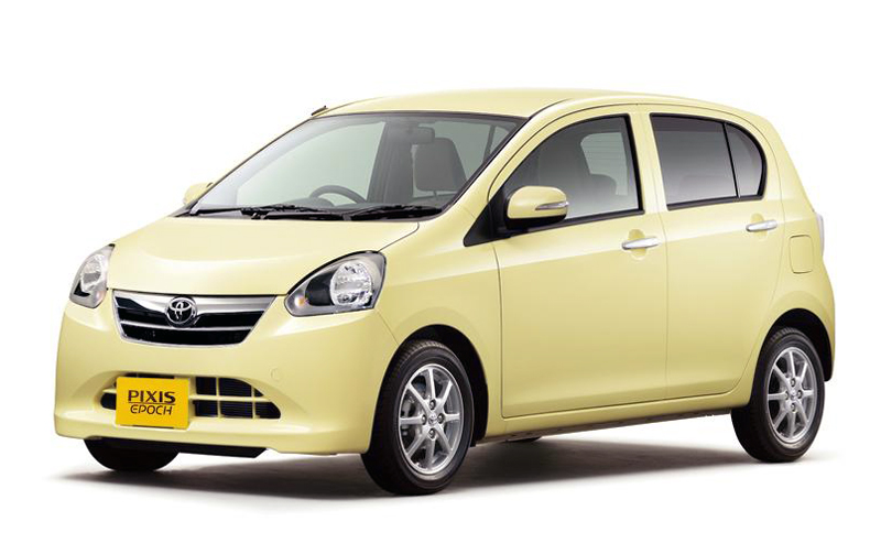 2013 Toyota Pixis Epoch Toyota to Have Released 2013 Pixis Epoch in Japan