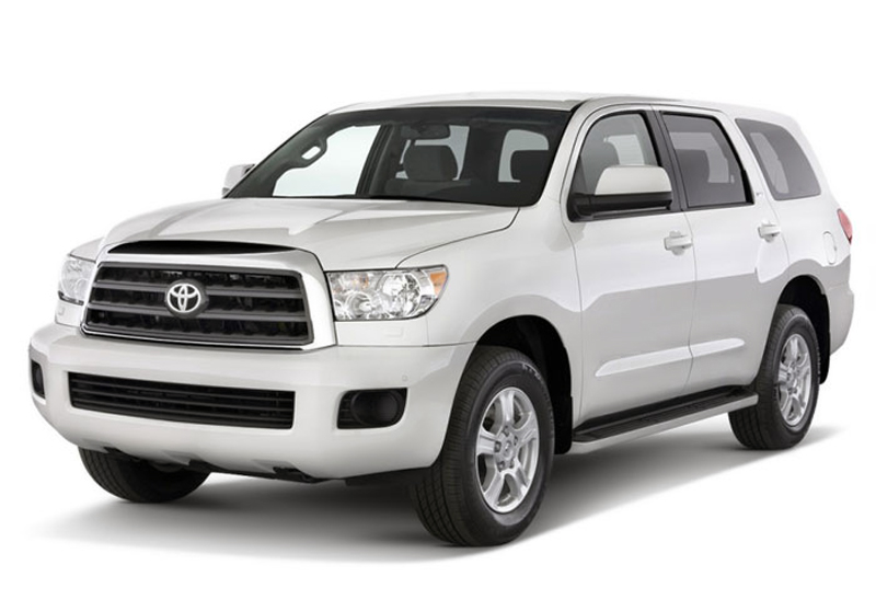 2013 Toyota Sequoia 2013 Toyota Sequoia with Upgraded Lighting Fixtures