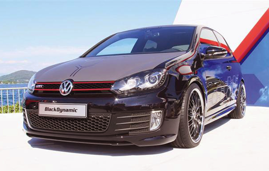 Volkswagen's 2013 Golf GTI Black Dynamic Concept Vehicle   A Review