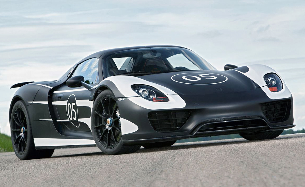 2014 Porsche 918 Spyder prototype 2014 Porsche 918 Spyder Prototype   A Technical Review