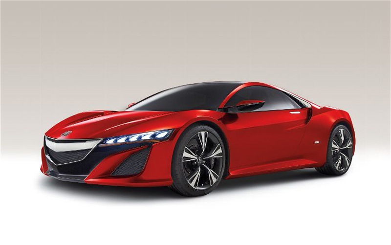 2015 Acura NSX 1 2015 Acura NSX   Futuristic Car Model   A Work of Art
