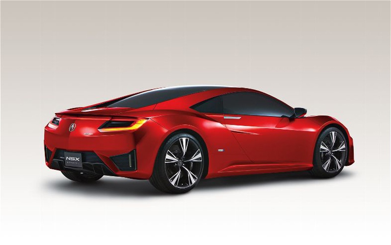 2015 Acura NSX 3 2015 Acura NSX   Futuristic Car Model   A Work of Art