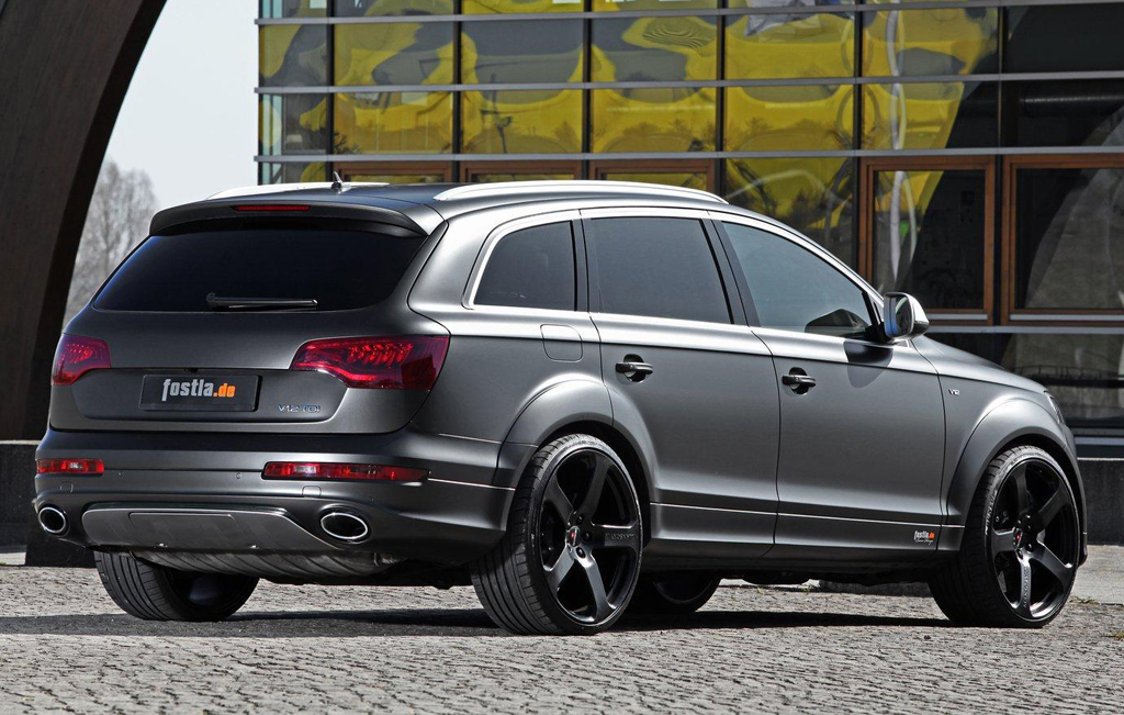 Audi Q7 V12 TDI by Fostla 3 Fostla to Tune up Audi Q7 V12 TDI