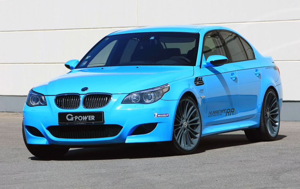 BMW G Power M5 Hurricane RRs G power Hurricane Model Famous for Its Razor Sharp Swiftness