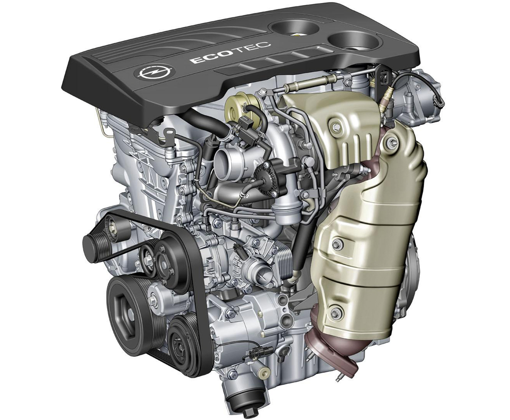Opel 1.6 liter four cylinder ECOTEC engine Three Engines Need To Be Released Soon This Year by Opel and Vauxhall