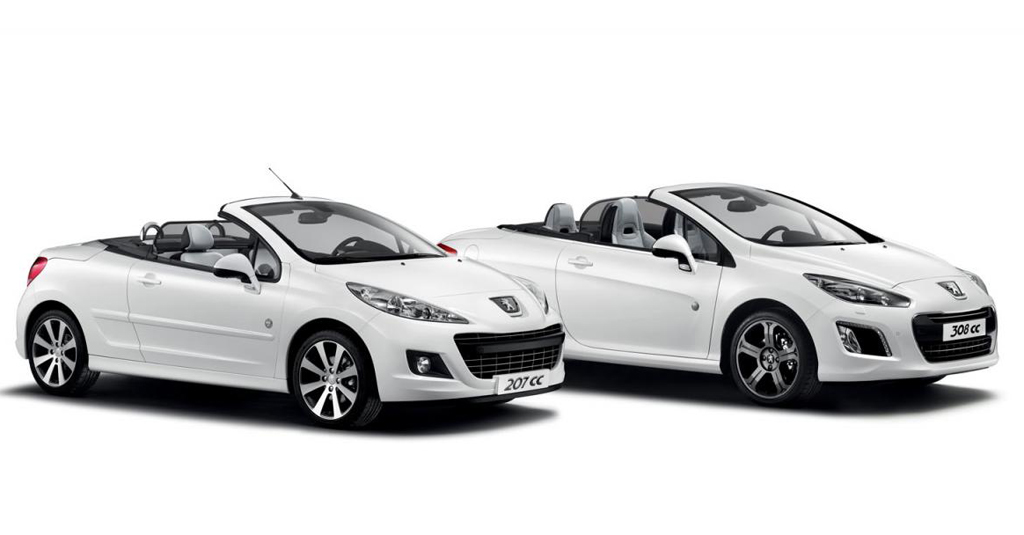 Peugeot 207 CC and 308 CC Roland Garros Special Editions Peugeot 207 and 308 CC Models Named after Rolland Garros