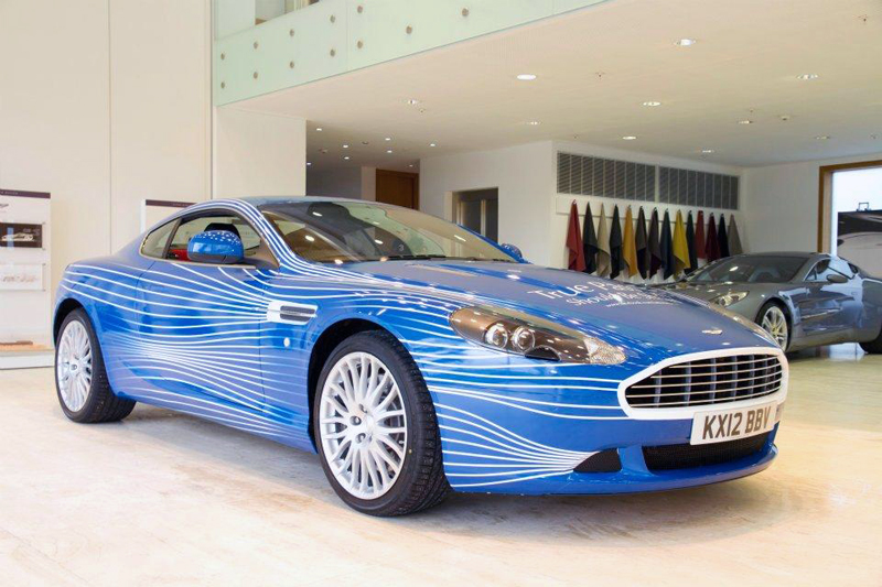 2013 Aston Martin DB9 1M 2013 Aston Martin DB9 1M Revealed