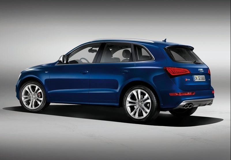 2013 Audi SQ5 TDI 5 2013 Audi SQ5 TDI   Famous for Its Aesthetic Glamour and Charismatic Glow