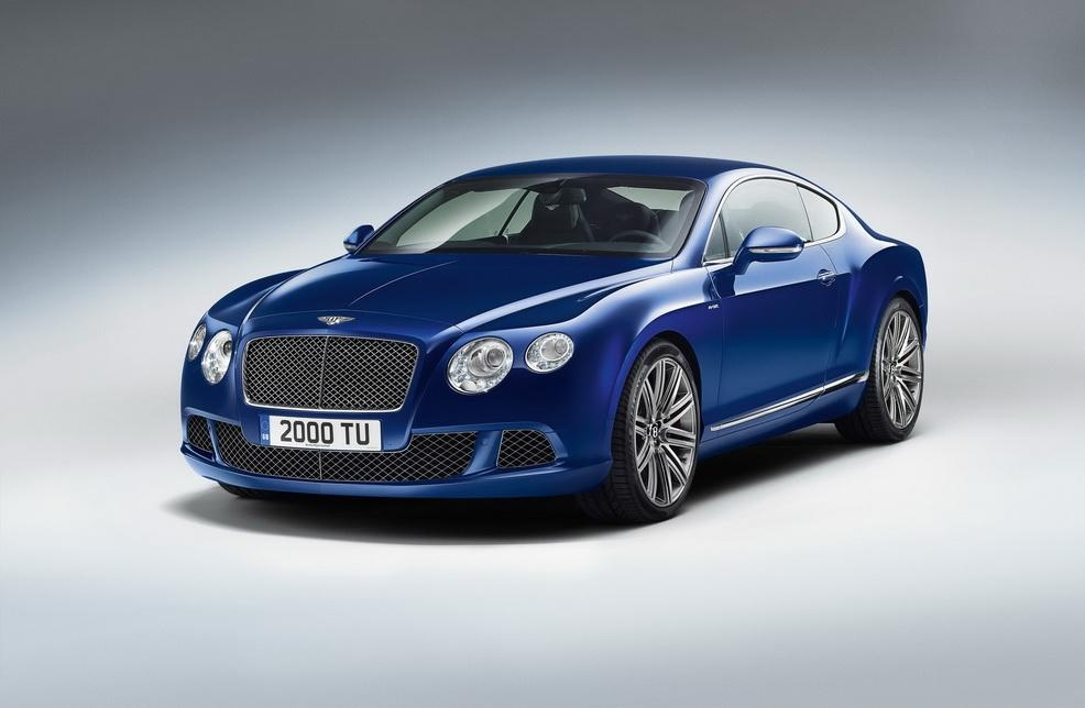 2013 Bentley Continental GT Speed 4 Fresh from the house of Bentley: The Brand New 2013 Bentley Continental GT Speed