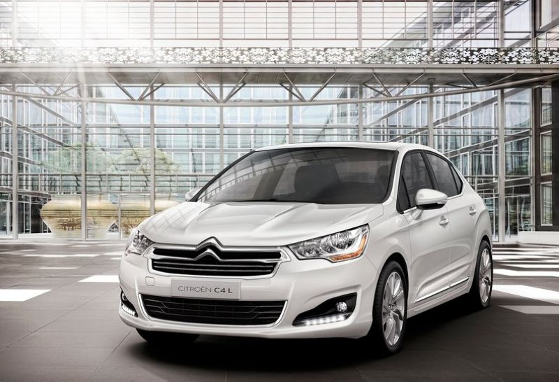 2013 Citroen C4 L 2013 Citroen C4 L – New Variant to Be Backfired Soon