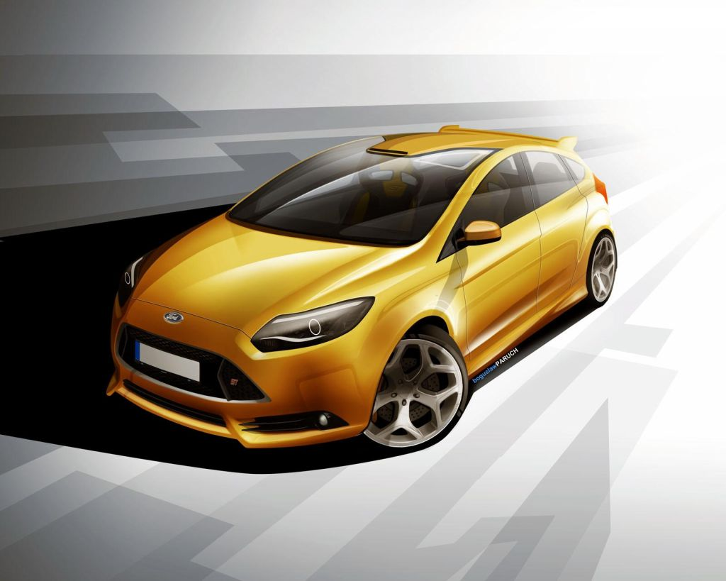 2013 ford focus st with its revolutionary turbo overboost. Black Bedroom Furniture Sets. Home Design Ideas