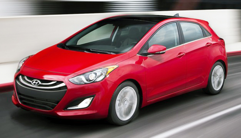 2013 Hyundai Elantra GT 5 door 1 Hyundai's official Tweet: The 2013 Elantra GT 5 door to be priced from $18,395 onwards