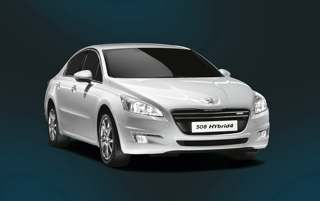2013 peugeot 508 sedan packed with hybrid4 powertrain engine. Black Bedroom Furniture Sets. Home Design Ideas