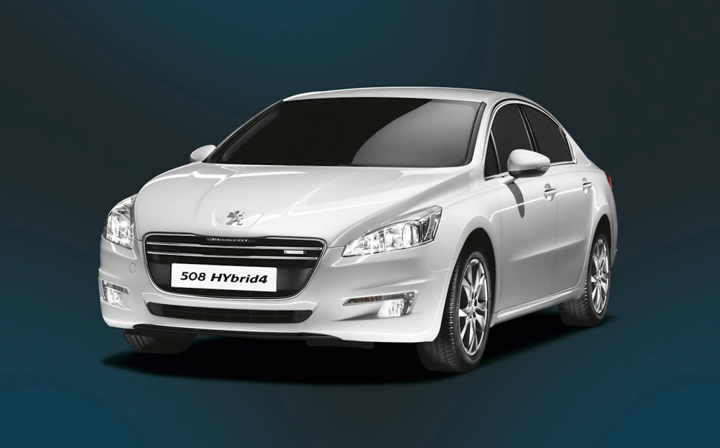 2013 Peugeot 508 Hybrid4 Sedan 2013 Peugeot 508 Sedan Packed With Hybrid4 Powertrain Engine