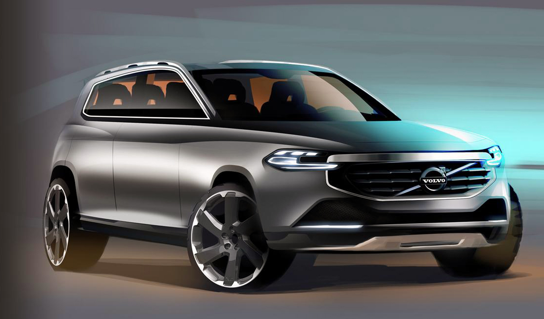 2015 Volvo XC90 1 2015 Volvo XC90 comes to light