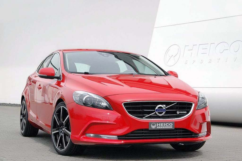 Heico Sportiv 2013 Volvo V40 Hatchback The Heico Sportive Lets a Sneak Peek to Their Forthcoming 2013 Volvo V40