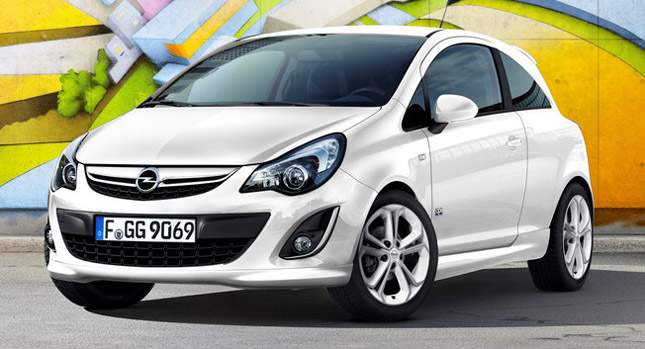 New Opel Corsa with 118hp 1.4 liter Turbo The Opel Corsa Revamped