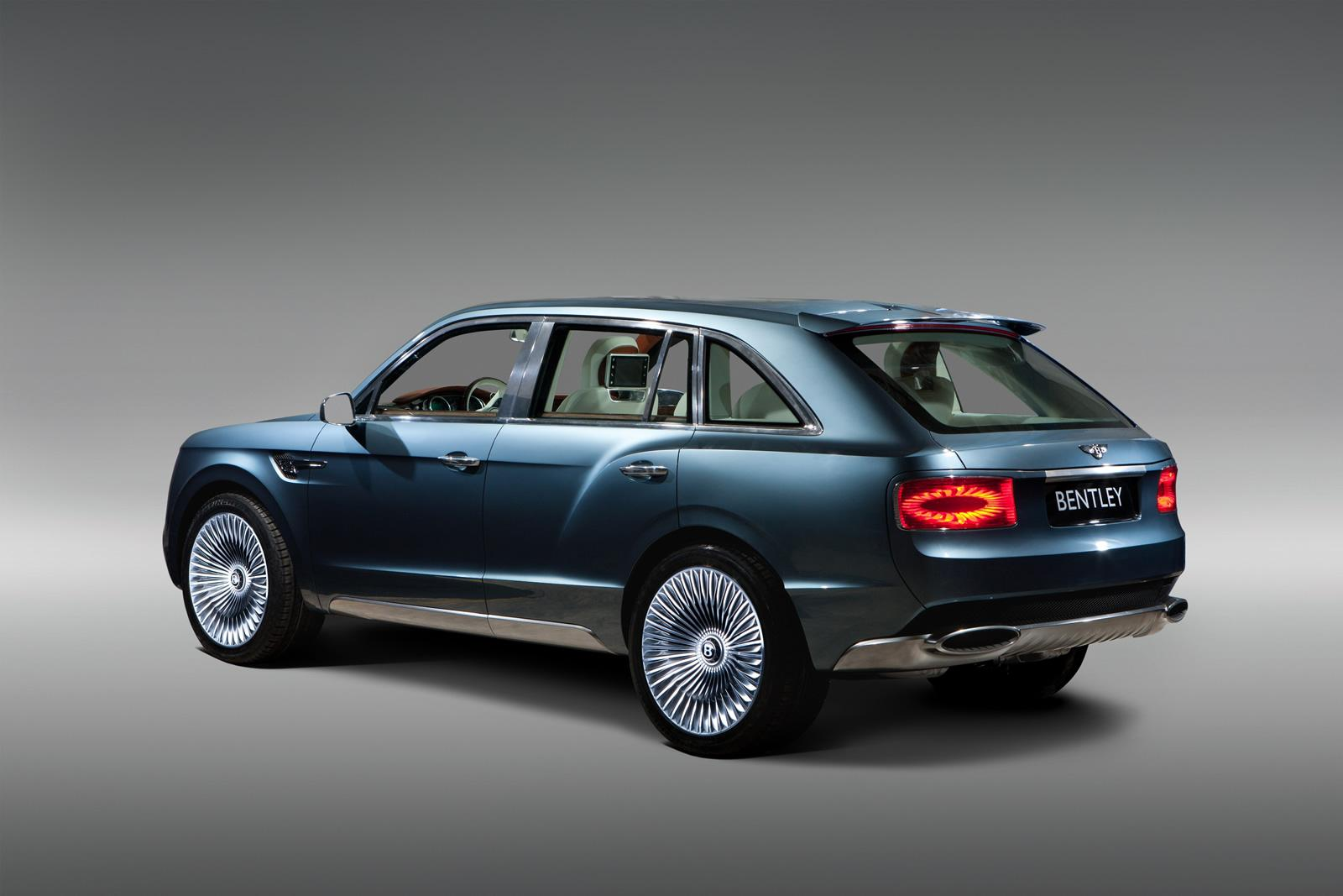 2013 Bentley EXP 9 F SUV Concept 2 2013 Bentley EXP 9 F SUV Concept   An Updated Tech Report