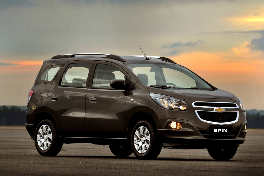 2013 Chevrolet Spin MPV GM motors to launch 2013 Chevrolet Spin in July This Year