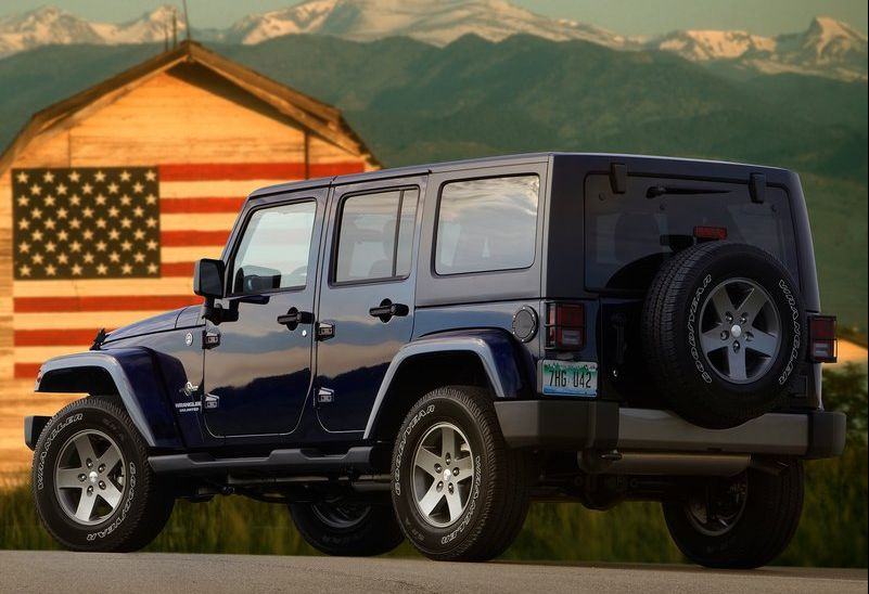 2013 Jeep Wrangler Freedom Edition 2 2013 Jeep Wrangler Freedom Edition   Durable and Bold