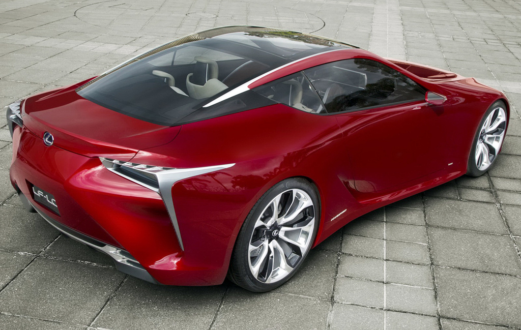 2013 lexus lf lc coupe a car review. Black Bedroom Furniture Sets. Home Design Ideas