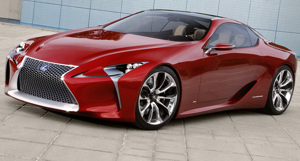 2013 Lexus LF LC Coupe 2013 Lexus LF LC Coupe   A Car Review