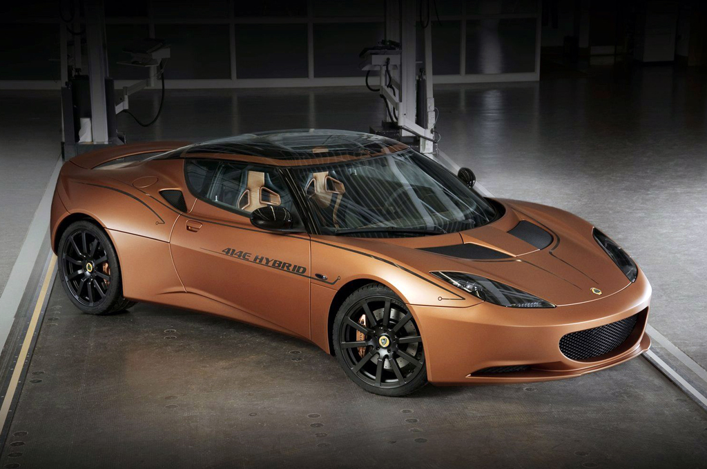 2013 Lotus Evora 414E Hybrid 2013 Evora 414E Hybrid from Lotus