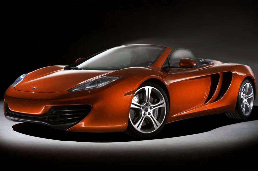 2013 McLaren MP4 12C Spider 2013 McLaren MP4 12C Spider Sneak Peek