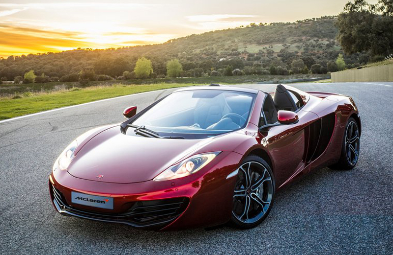 2013 McLaren MP4 12C Spider1 2013 McLaren MP4 12C Spider   Meant for Stylish Guys