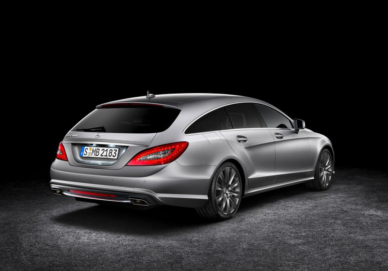 2013 Mercedes Benz CLS Shooting Brake 3 2013 Mercedes Benz CLS Shooting Brake   Famous for Sharp Design with Curb Appeal