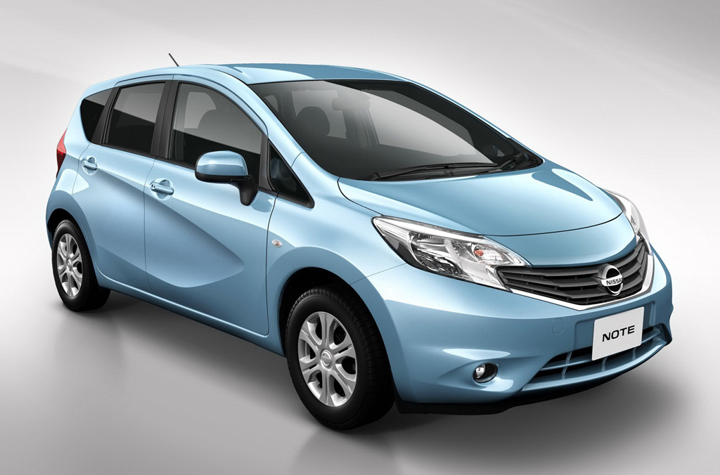 2013 Nissan Note 2013 Nissan Note Global Compact Car   Japanese Model More Innovative in Curb Appeal and Style