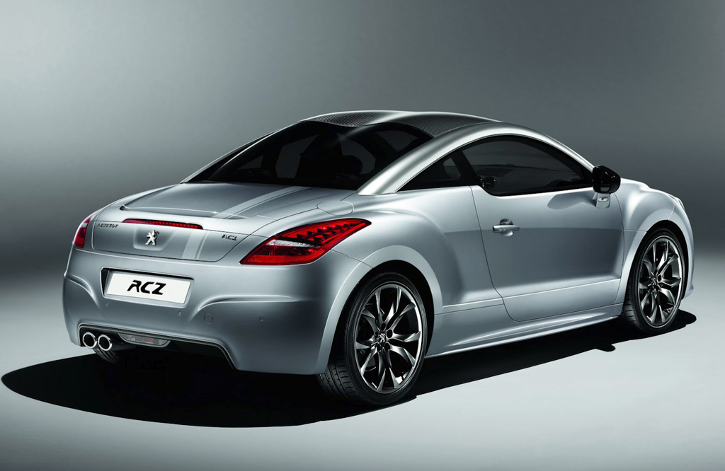 2013 Peugeot RCZ Onyx 2013 Peugeot RCZ Onyx   Aerodynamic, Fuel Economic and Efficient