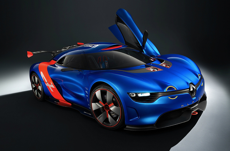 2013 Renault Alpine A110 50 Concept 2 2013 Renault Alpine A110 50 Concept   Performance Based Aerodynamic Vehicle
