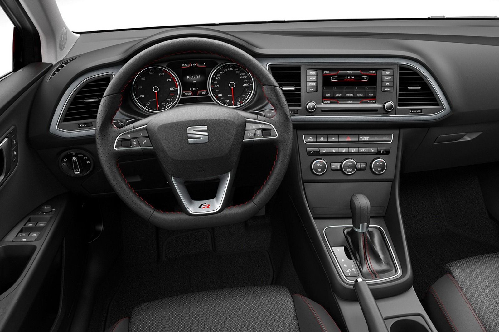 2013 Seat Leon 7 2013 Seat Leon   Majestic Aesthete, Dazzling Color Contrast and Superb Nav System