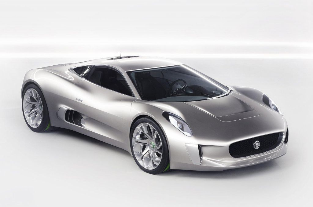 2014 Jaguar C X75 Supercar 2014 Jaguar C X75 Supercar features and details