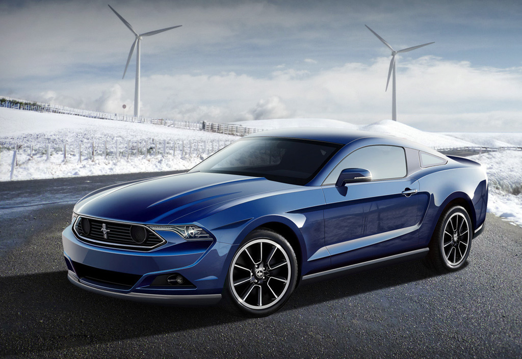 2015 Ford Mustang GT Coupe Design Concept 2015 Ford Mustang GT Coupe Design Concept   More Stylish