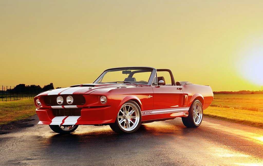 Shelby GT500CR Convertible 1967 Shelby Mustang GT   Remake to Be Done