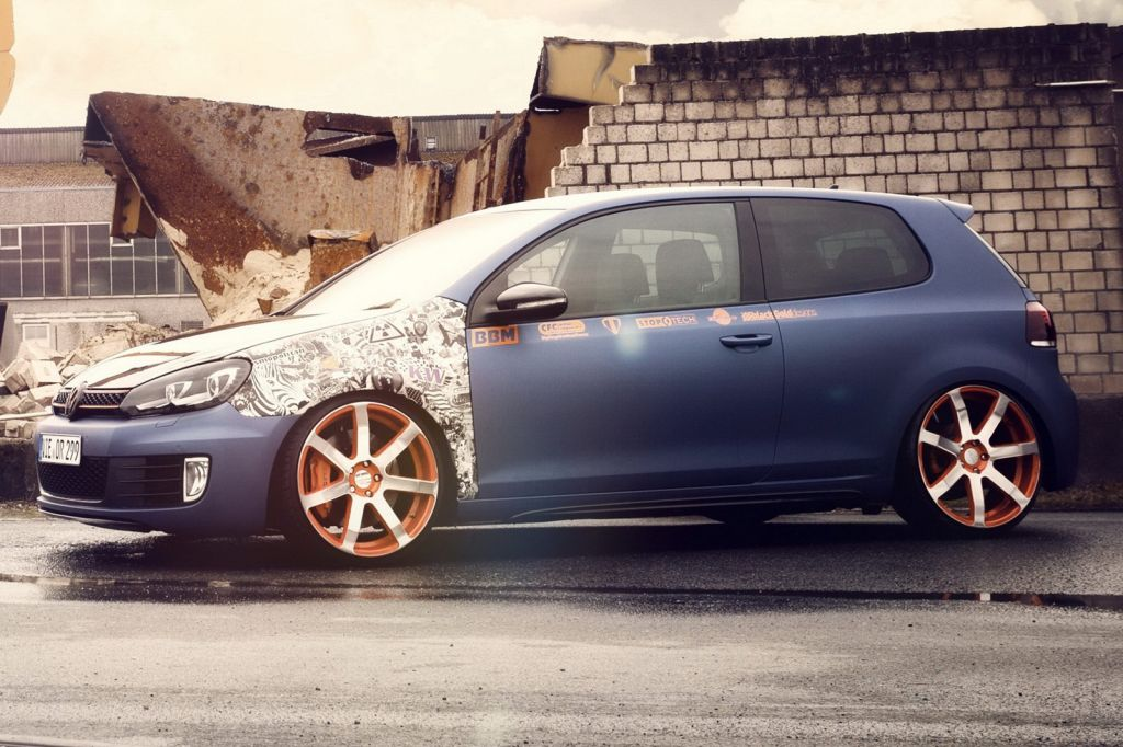 2013 BBM Motorsport VW Golf GTI 4 2013 BBM Motorsport VW Golf GTI   with Modified Drive train Kit