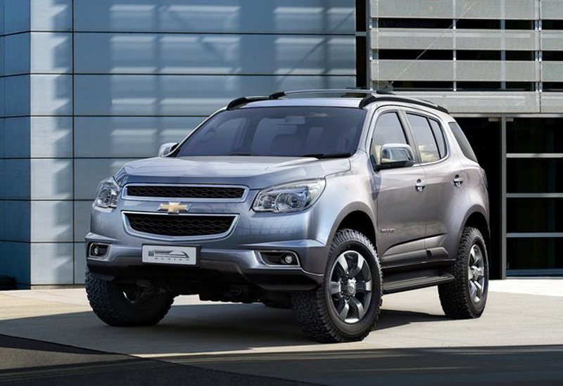 2013 Chevrolet Trailblazer The stronger 2013 Chevrolet Trailblazer means business
