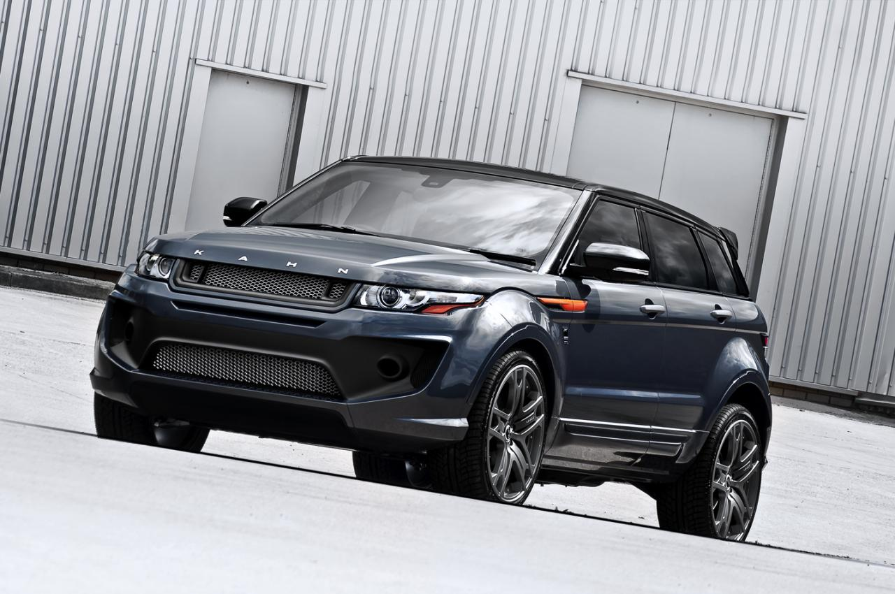 2013 Dark Tungsten RS250 Evoque A. Kahn Design gives a make over to the 2013 Dark Tungsten RS250 Evoque