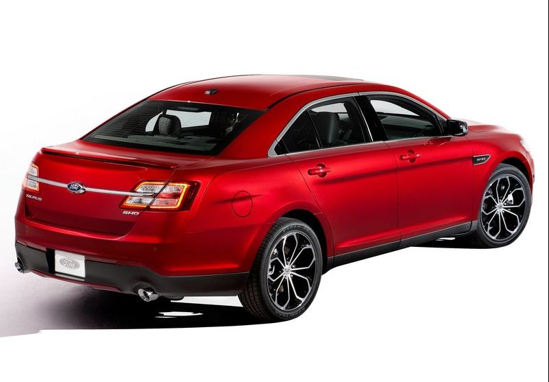 2013 Ford Taurus SHO 3 2013 Ford Taurus SHO   is sportier and a better performer