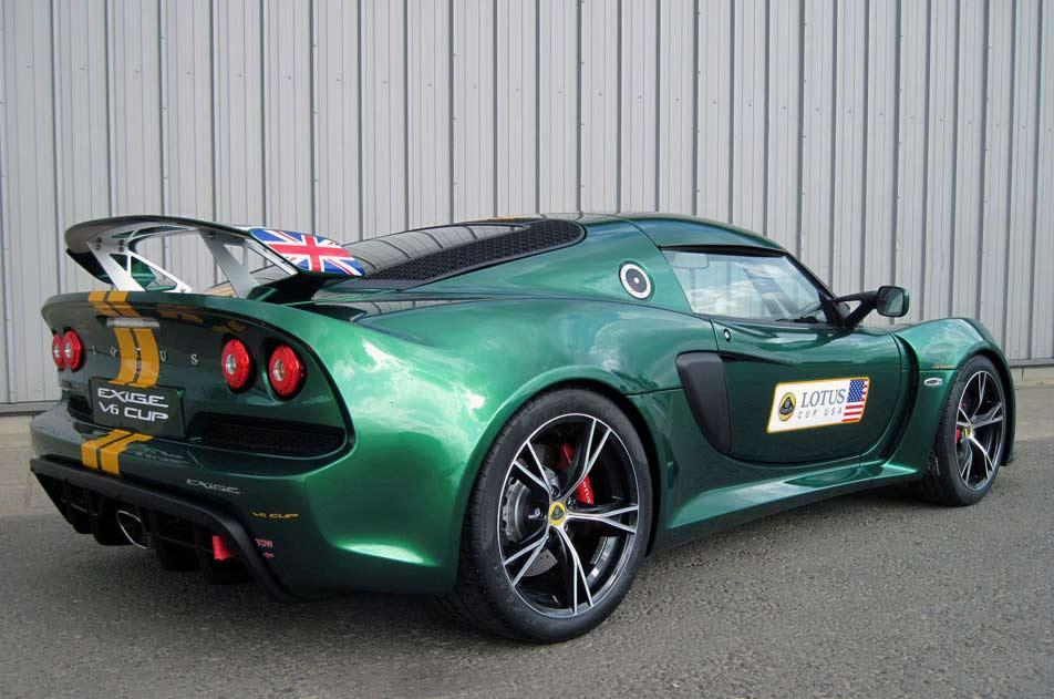2013 Lotus Exige V6 Cup 2 2013 Lotus Exige V6 Cup is ready for the tracks