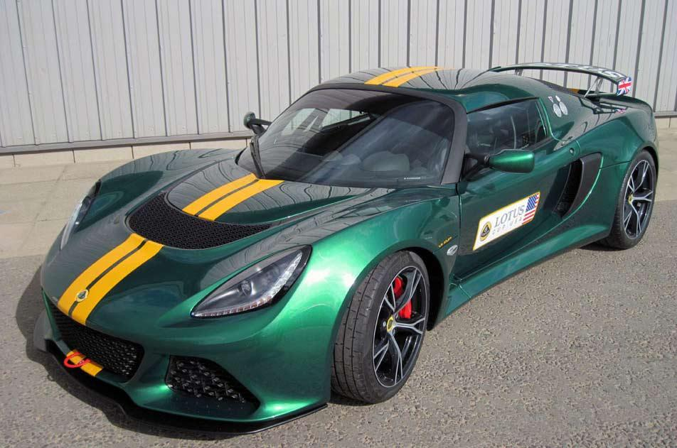 2013 Lotus Exige V6 Cup 2013 Lotus Exige V6 Cup is ready for the tracks