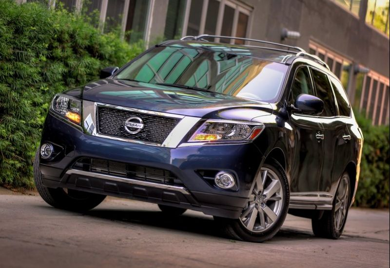2013 Nissan Pathfinder1 2013 Nissan Pathfinder   The Adventure car that looks its part