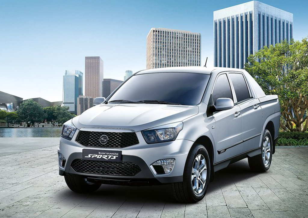 2013 SsangYong Korando Sports 2 2013 SsangYong Korando Sports with Updated Drive train Attachment