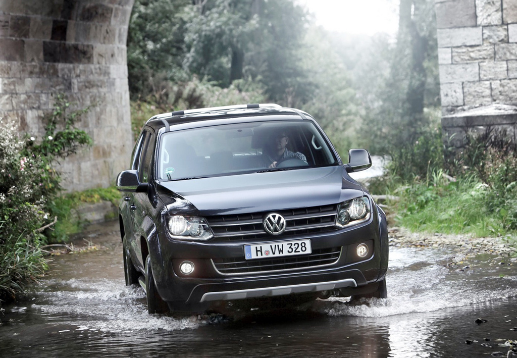 Vw amarok pickup truck for Kia motor company usa