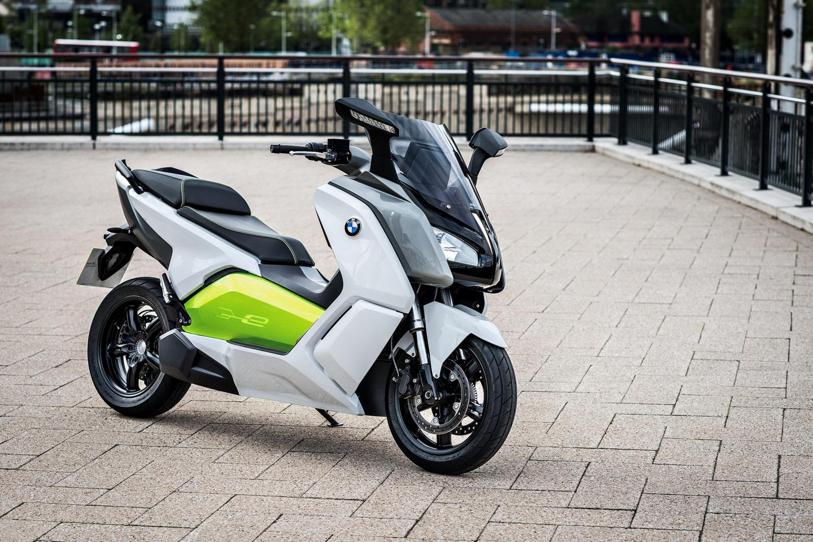 2014 BMW C Evolution Electric Scooter 1 BMW Motorrad to Release 2014 C Evolution Electric Scooter