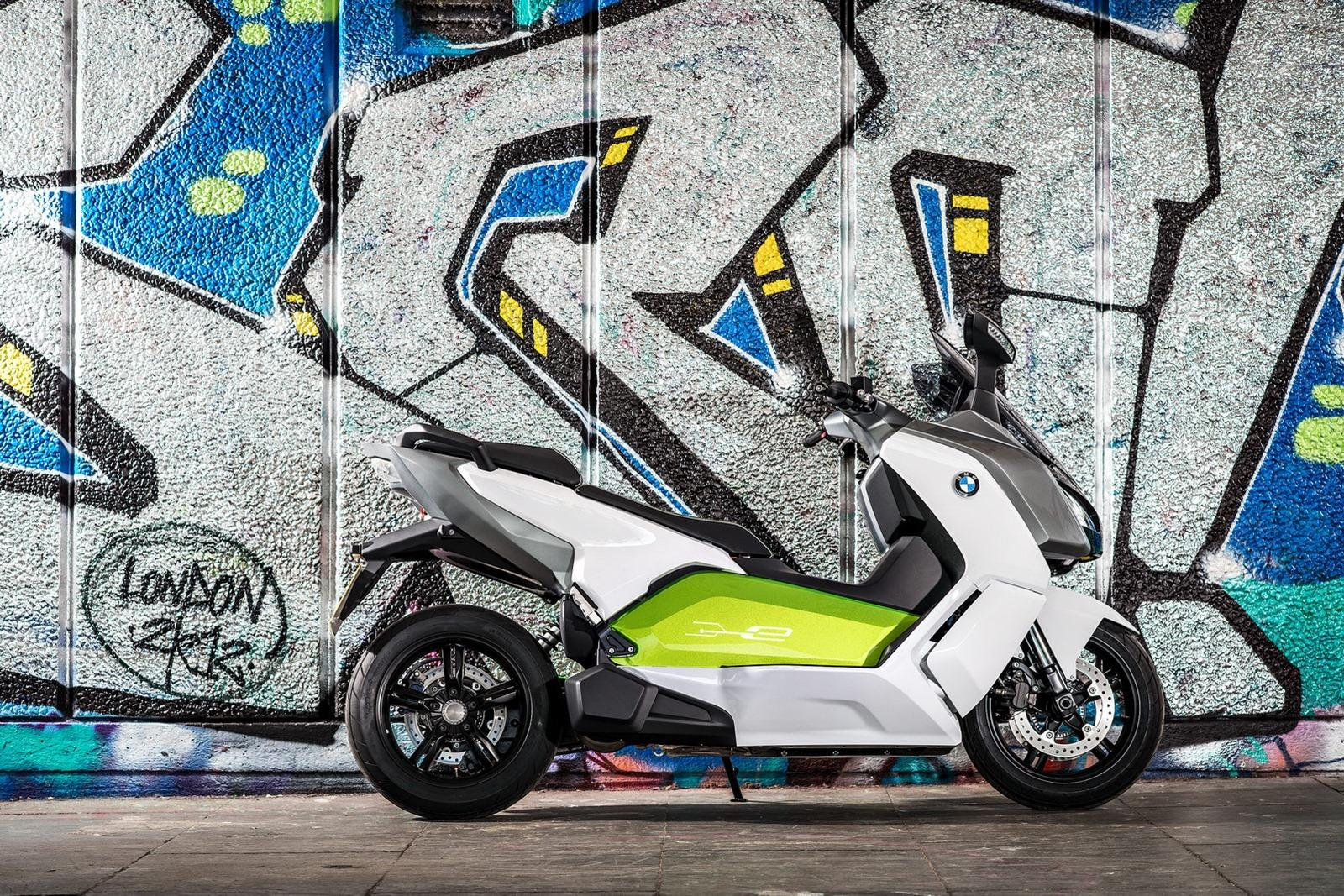 2014 BMW C Evolution Electric Scooter 2 BMW Motorrad to Release 2014 C Evolution Electric Scooter