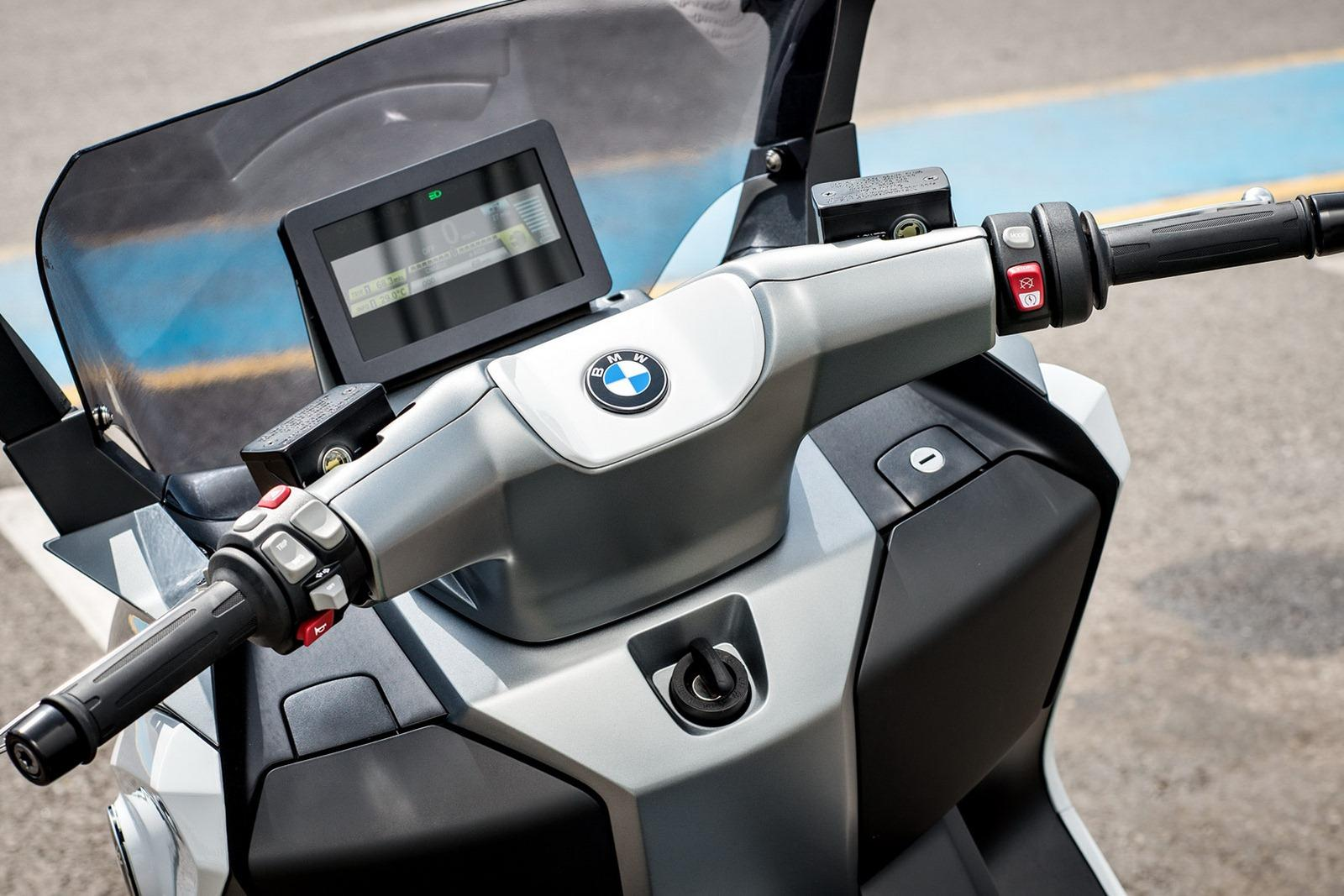 2014 BMW C Evolution Electric Scooter 9 BMW Motorrad to Release 2014 C Evolution Electric Scooter