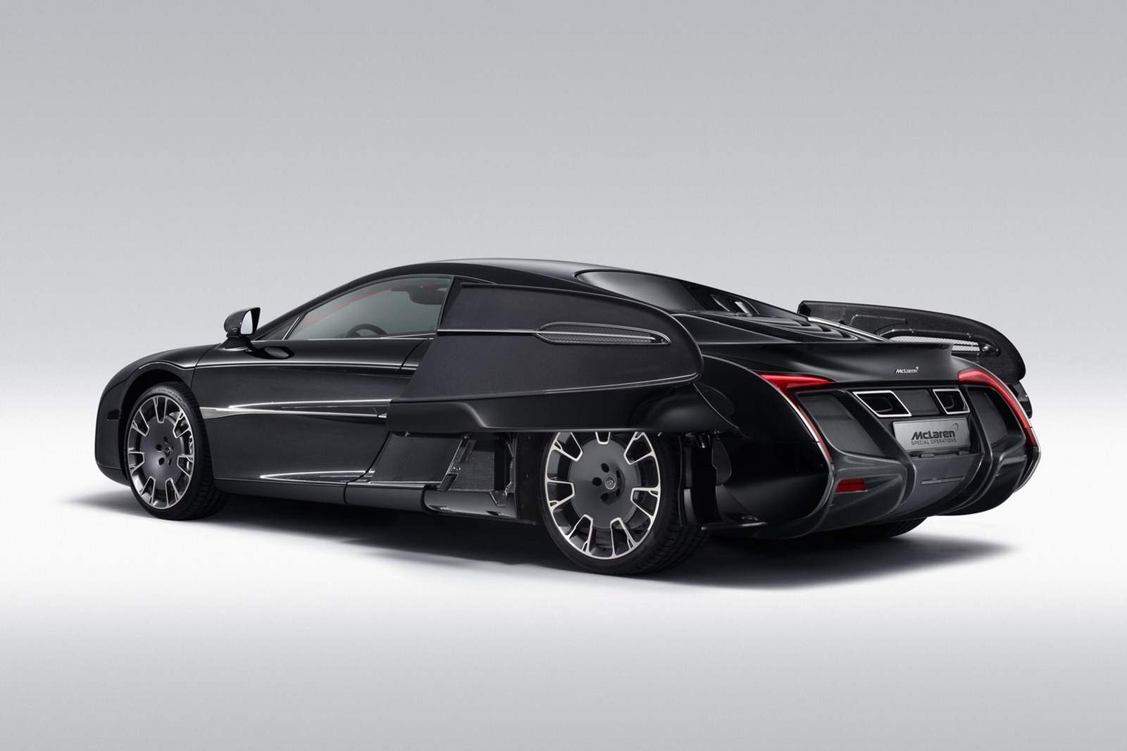 McLaren X 1 Concept 2 McLaren closely follows the footsteps of Ferrari   customizes a vehicle  for a client